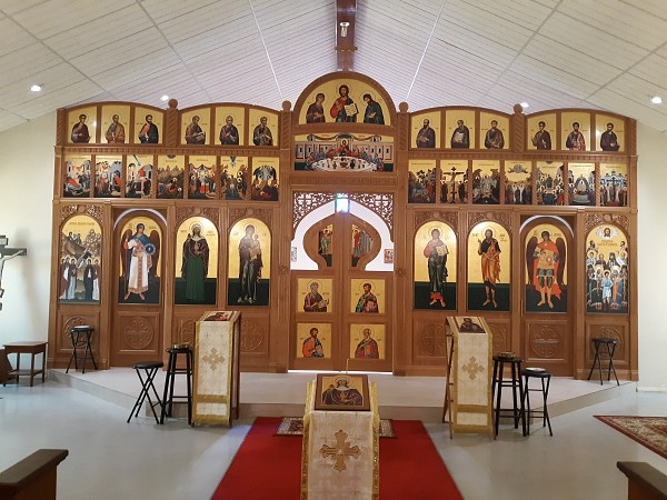 The St. Mary Magdalene Church Iconostasis is finished!